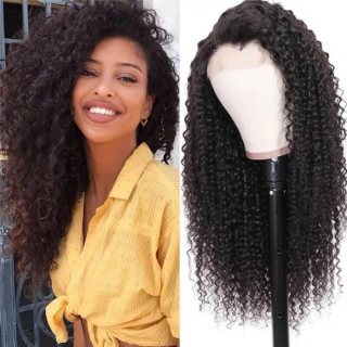 6x6 Pre Plucked Kinky Curly Weave Lace Closure Human Hair Wig Virgin Human Hair Lace Closure Wigs For Full Head