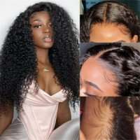 Long Straight Wig 5x5 Lace Closure Wig Straight Human Hair Wigs