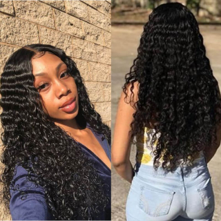 7A Indian Virgin Deep Wave Human Hair Bundles