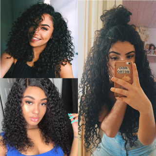 Indian Virgin Jerry Curly Hair Weave Bundles