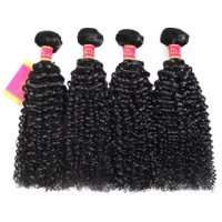 Kinky Curly Weave Bundles 8-24 Inch Kinky Curly Hair Extensions