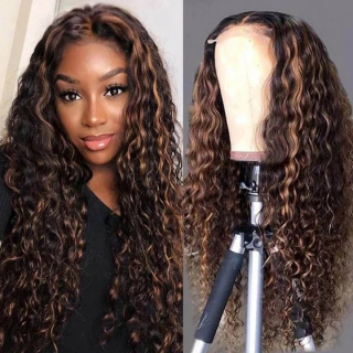 worldnewhair curly lace front wig