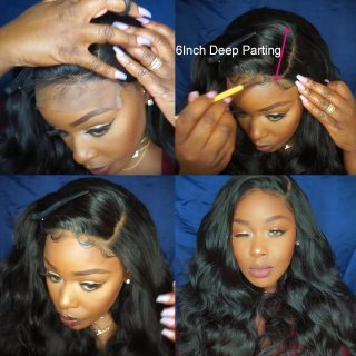 Virgin Hair Straight Weave 3 Bundles With 13x6 Lace Frontal Closure With Bundles