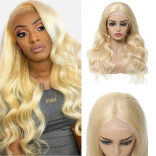 613 Blonde Body Wave 13x4 and 13x6 Lace Front Wigs With Baby Hair Free Part Human Hair Wigs