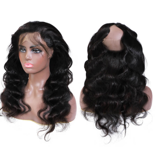 360 Lace Frontal Closure Virgin 360 Body Wave Frontal Natural Looking
