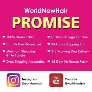 WorldNewHair 4pcs Human Virgin Body Wave Hair Weave Extension For Cheap