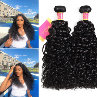 Unprocessed Indian Jerry Curly Virgin Hair Weave