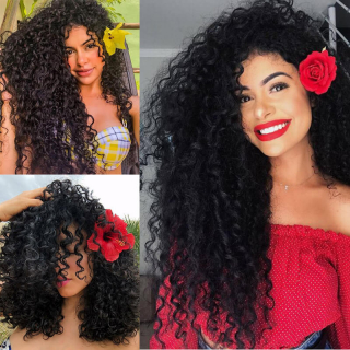 Malaysian Jerry Curly Hair Weave