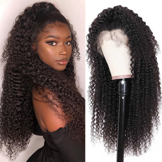 Kinky Curly Human Hair Lace Front Wig 13x4 and 13x6 Afro Kinky Curly Lace Front Wig Human Hair
