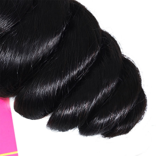 3pcs/pack Virgin Loose Wave Hair Weave Human Hair Extension For Sale