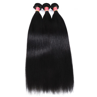 Brazilian Straight Hair 3 Bundles Deal Human Virgin Straight Hair Bundles For Sale