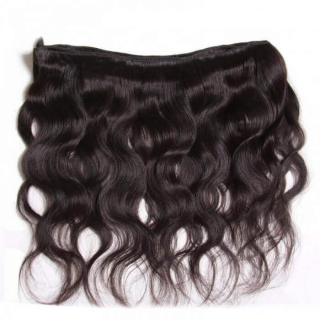 13x4 Transparent Lace Frontal Free Part With Natural Color Body Wave Hair 4 Bundles