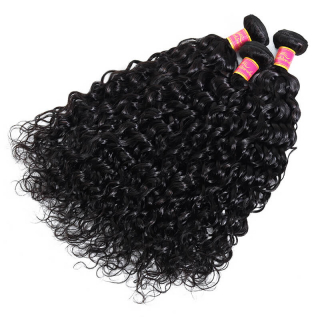 Cheap Virgin Water Wave Hair Weave 4 Bundles Human Virgin Hair Extensions