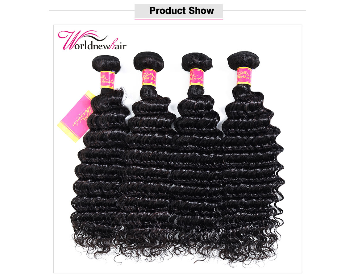 brazilian deep wave curly hair bundles,hair weft,hair weave