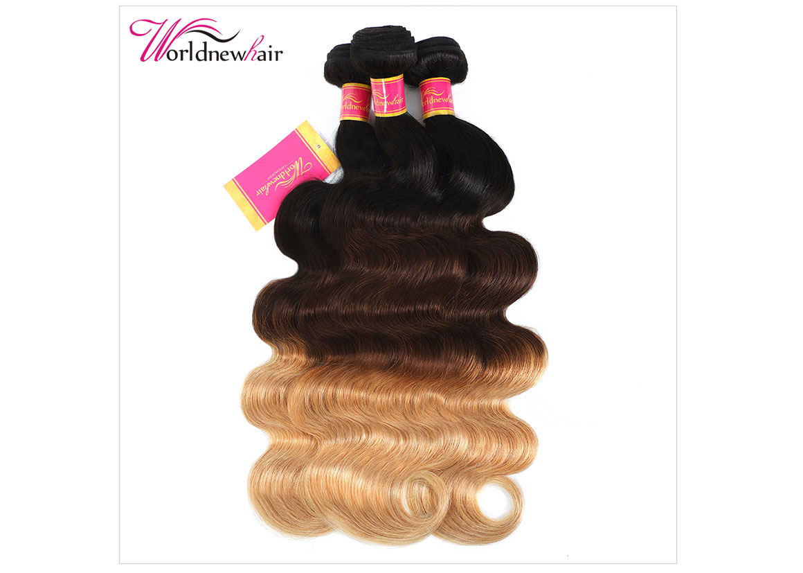 peruvian ombre body wave curly hair bundles,hair weft,hair weave