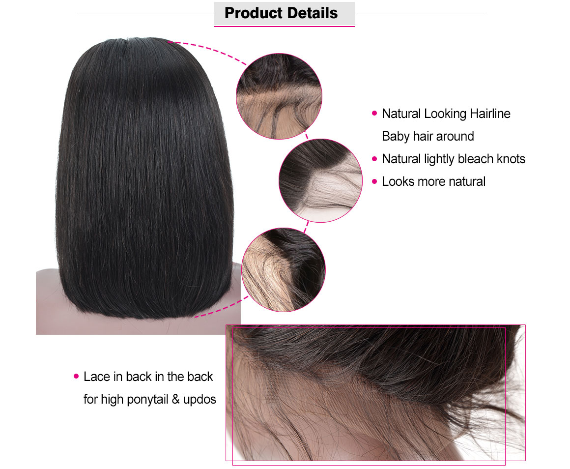 cheap pre pluck lace front wig